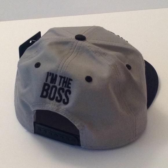 8b8fa5536 🍃🌹'I'm The Boss' - Carbon 212 Cap